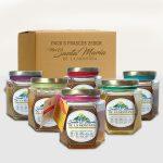 Paquete con 6 variedades de miel