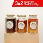 3x2 Pack 3 Frascos de 375gr