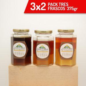 3×2 Pack 3 Frascos de 375gr