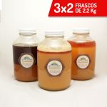 3x2 Frascos de 2.2 kg