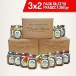 3x2 Pack 4 frascos 250gr