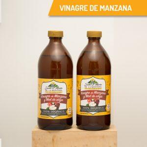 Vinagre de manzana y miel de abeja 1lt